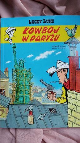 Komiks Lucky Luke Kowboj w Paryżu tom 82 Egmont nowy