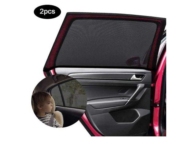Tapa Sol para Janela de carro - Viagens - Pack 2 - Raios UV -