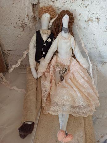Тильда, интерьерная кукла, амигуруми, тильда