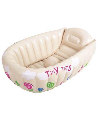 Детская надувная ванночка бассейн
