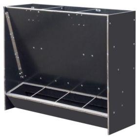 Paśnik na paszę automat paszowy tucznikowy typ 4-stanowiskowy na sucho