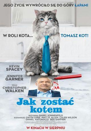 """Jak NOWY !!! Film Na DVD """"Jak zostać kotem"""" !!!"""