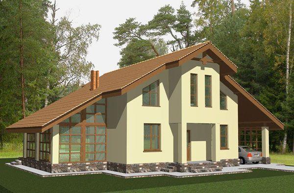 Дом с вторым светом: проект - 2850грн