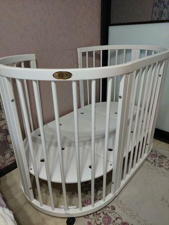 Детская круглая кроватка ingVart