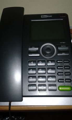 Telefon stacjonarny MaxCom z wyświetlaczem duże klawisze