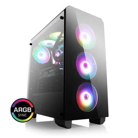 Komputer WQHD AMD Ryzen 3600 6x4.2Ghz, Radeon RX 6700XT 12GB, 16GBNowy