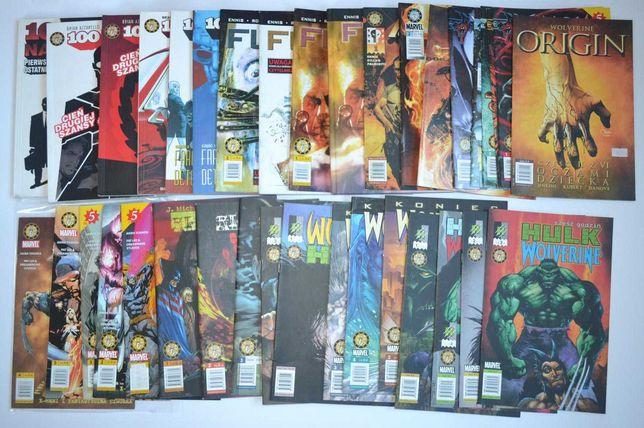Mandragora dużo komiksów RÓŻNYCH Wolverine Lobo Ghost Rider na sztuki