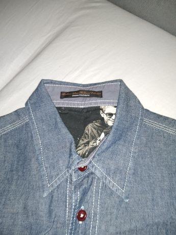 Koszula młodzieżowa dżinsowa