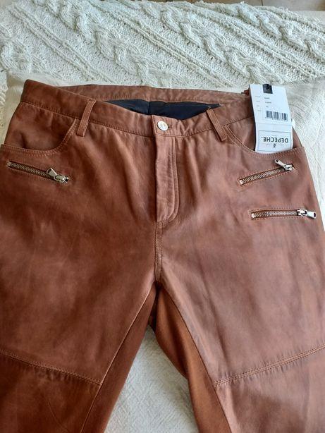 Spodnie skora naturalna