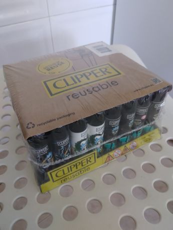 Isqueiros clipper caixa 48un