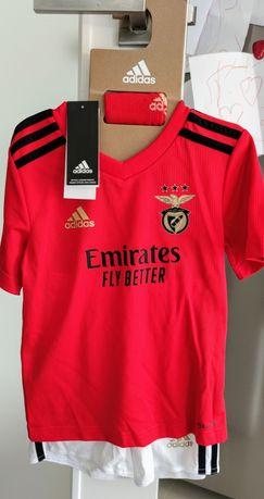 Equipamento Benfica Completo Original