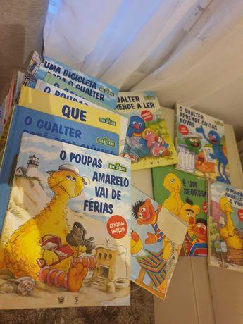 Coleçao 28 livros da Rua Sésamo