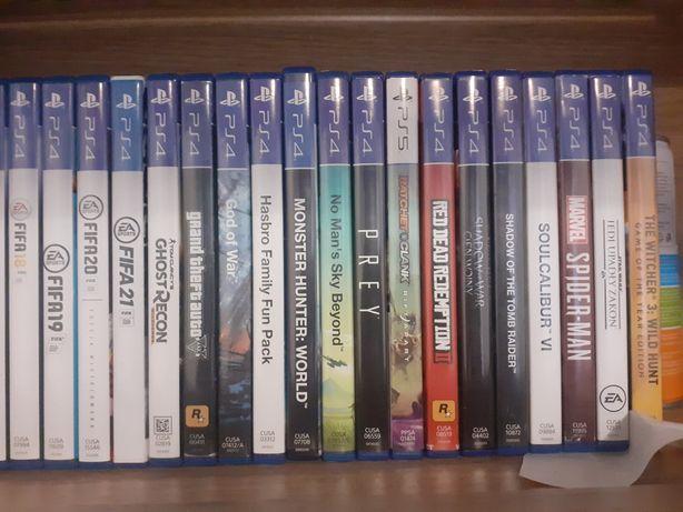 30 gier na PS4 (stan idealny)