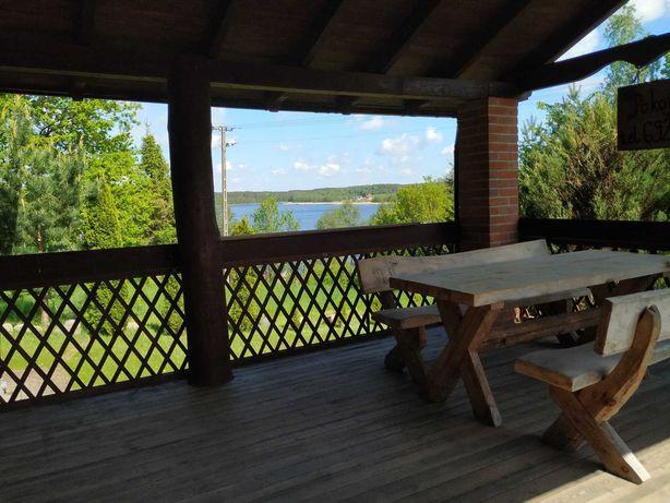 Dom nad jeziorem Hartowiec 100m do wody, Noclegi Warmia Mazury