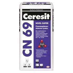 Ceresit CN-69, Наливной пол, 3-15 мм, 25 кг