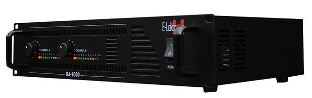 Wzmacniacz,końcówka mocy E-Lektron DJ-1000 2x500Watt sklep Wągrowiec