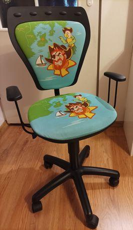 Krzesło obrotowe regulowane dziecięce
