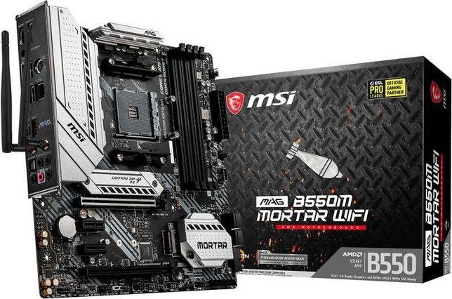 Motherboard MSI MAG B550M MORTAR  WIFI