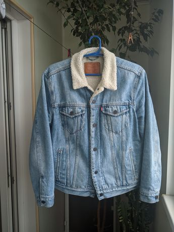 Джинсовая куртка Levi's Sherpa