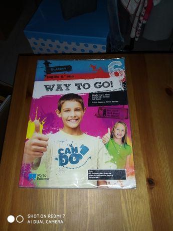 INGLÊS -Way to Go 6 - manual