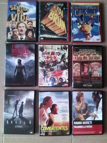 Vendo dvd's novos e alguns selados