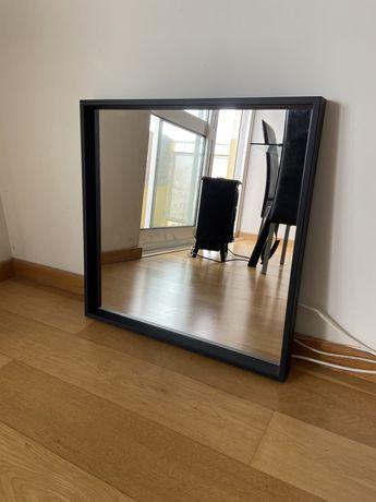 Espelho preto Ikea NISSEDAL 65x65 cm