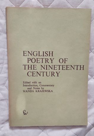 ENGLISH POETRY of the nineteenth century