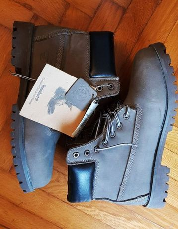 męskie szare trapery Timberland 6 inch US 11 waterproof