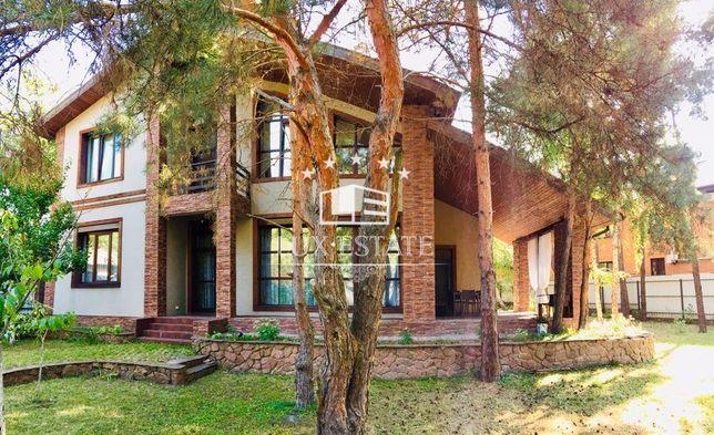 БЕЗ%,Аренда нового дома(300м),Киев,м.Лесная,4 спальни,10 соток