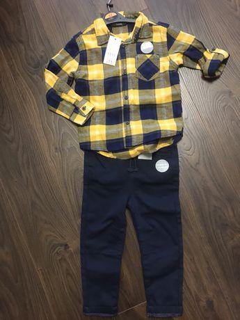 Костюм george, h&m, 2-3 роки, штани і сорочка