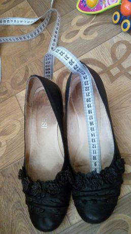 Кожаные б/у туфли
