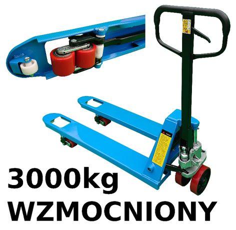 wózek ręczny PALETOWY PALECIAK WIDLAK 3000kg 3t 1150m 115cm WZMOCNIONY