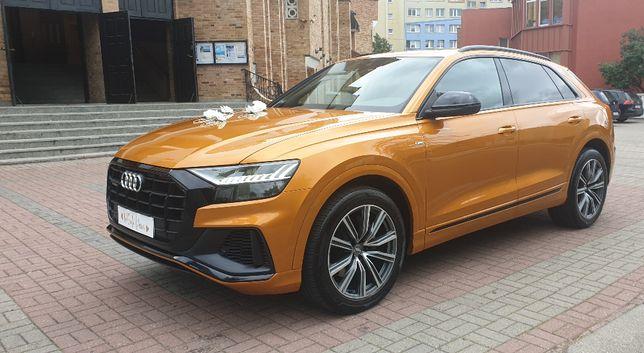 AUTO DO ŚLUBU nowe AUDI Q8 2020 dragon orange metalic