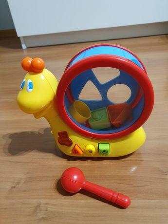 Ślimak sorter zabawka dla dziecka