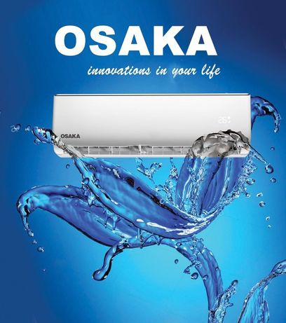 Кондиционер OSAKA   Компрессор Toshiba Акция на Монтаж