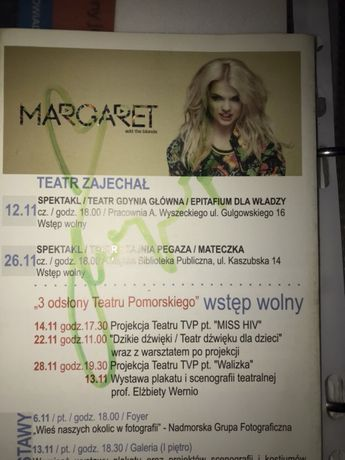 Margaret autograf