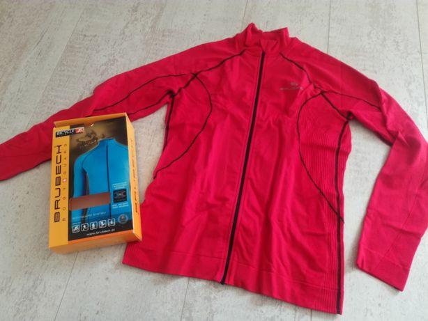 Bluza Softshell Damska Brubeck Czerwony sportowa światłoszczelny
