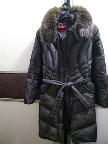 Женский пуховик женское пальто куртка р.М