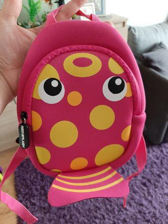 Nowy plecaczek dla dziewczynki