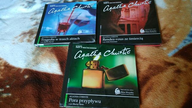 3 audiobooki Agathy Christie