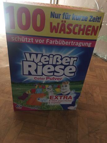 Niemiecki proszek do prania Weisser Riese