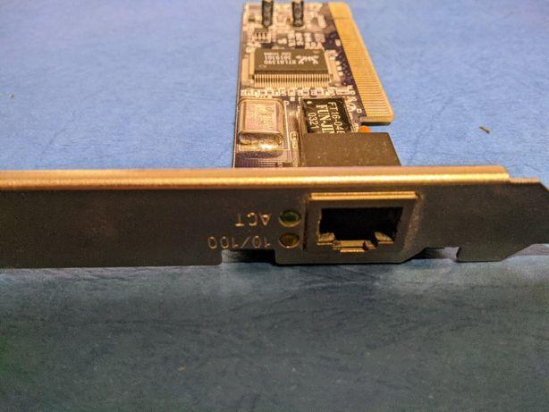 Karta sieciowa PCI 10/100 Mbit Realtek 100% ok