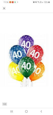 30szt. Balonów na 40urodziny