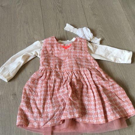 Sukieneczka+ bluzeczka 5.10.15 rozm. 62 + GRATIS