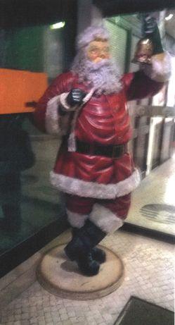 Pai Natal Acrílico 2m de altura