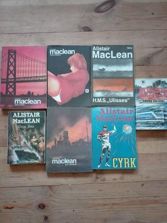 Alistair MacLean - zestaw książek