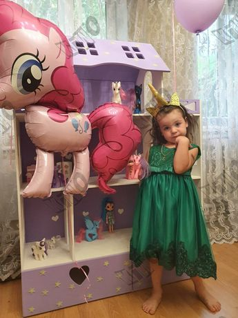 Кукольный домик барби ЭКО ЛОЛ фиксики монстер хай свинка Пеппа
