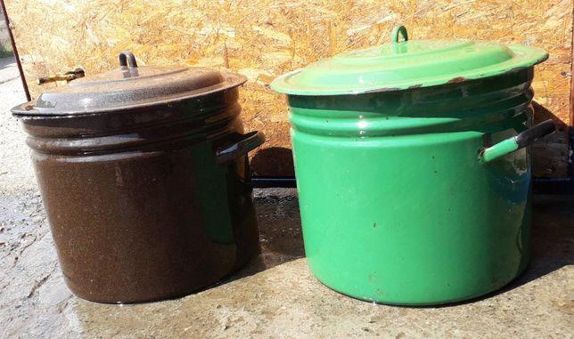 Кастрюля эмалированная 40 литров