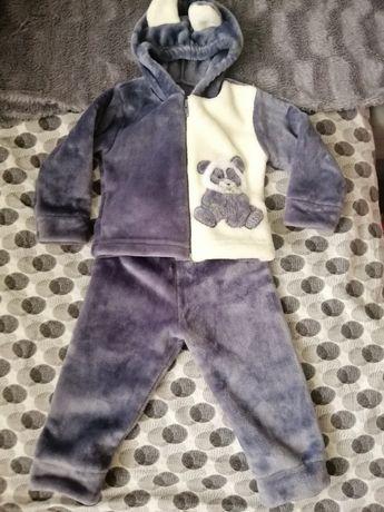 Плюшевый детский костюм на весну