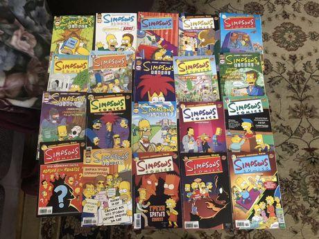 Симпсоны  комиксы Simpsons comics